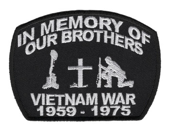 In Memory Of Our Brothers-Vietnam War 1959-1975 Patch