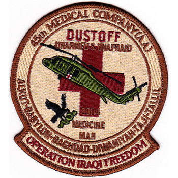 45th Aviation Medical Company Patch