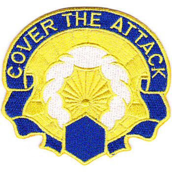 457th Chemical Battalion Patch