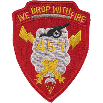 457th Airborne Field Artillery Battalion Patch - B Version