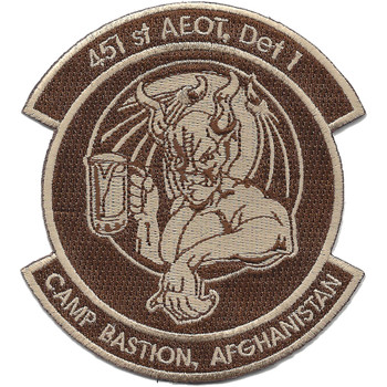 451st Expeditionary Aeromedical Evacuation Squadron Patch Desert
