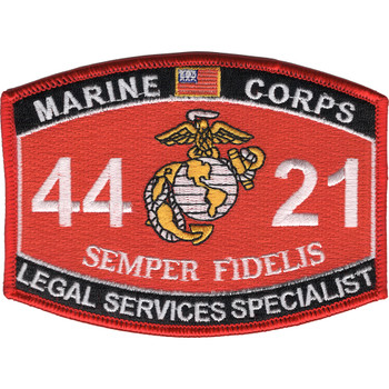 4421 Legal Services Specialist MOS Patch