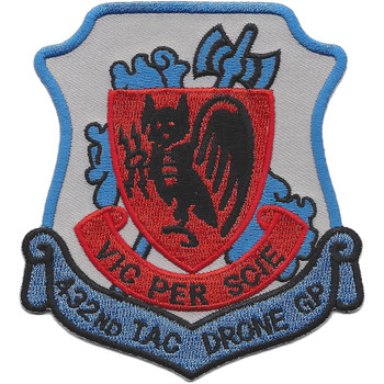432nd TAC Drone Group Patch