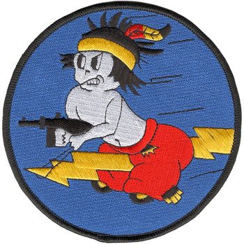 404th Fighter Squadron Large Patch