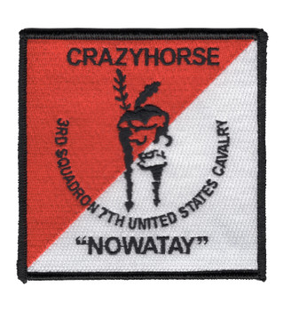 3rd Squadron 7th Air Cavalry Aviation Attack Regiment Patch