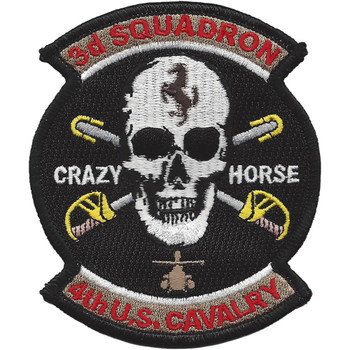 3rd Squadron 4th Aviation Cavalry Regiment Patch