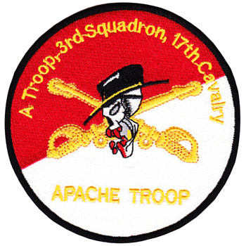 3rd Squadron 17th Cavalry Regiment Patch