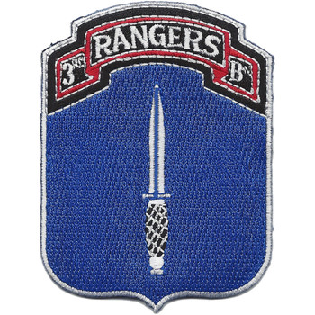 3rd Ranger Battalion Patch