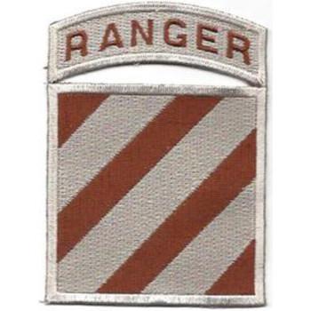 3rd Infantry Division Patch Ranger Desert