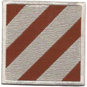 3rd Infantry Division Patch Desert
