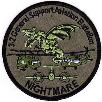 3rd Battalion 2nd Aviation Regiment Patch