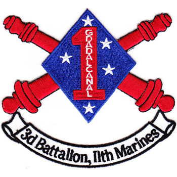 3rd Battalion 11th Marines Patch