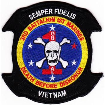 3rd Battalion 1st Marine Patch