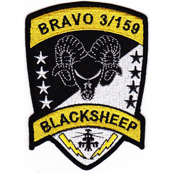 3rd Attack Recon Battalion 159th Aviation Regiment B Company Patch