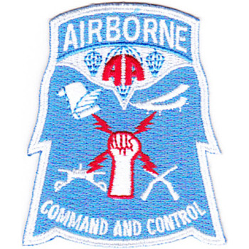 82nd Airborne Division Command & Control Patch