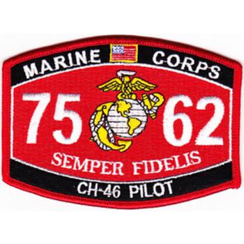 7562 CH-46 Pilot MOS Patch