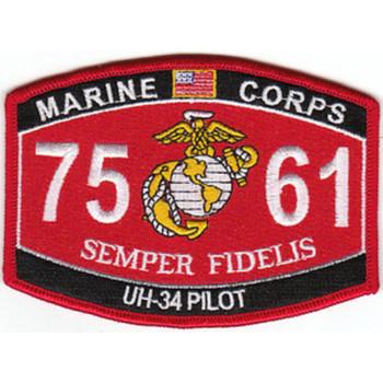7561 UH-34 Pilot MOS Patch