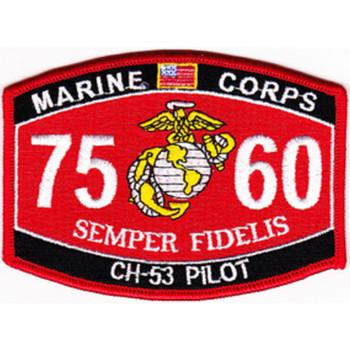 7560 CH-53 Pilot MOS Patch