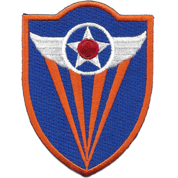 4th Air Force Shoulder Patch