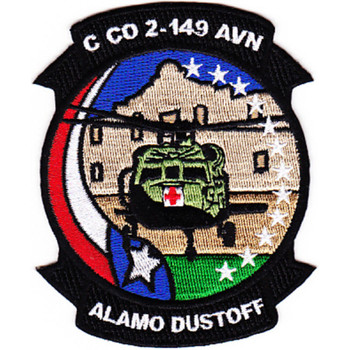2nd Squadron 149th Aviation Regiment C Company Patch