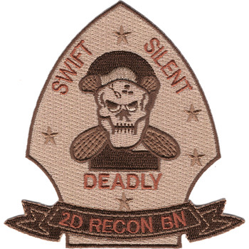2nd Reconnaissance Battalion Desert Patch