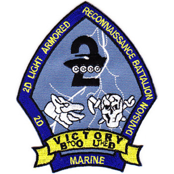 2nd Light Armor Reconnaissance Battalion Division Patch