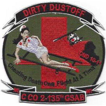 2nd Battalion 135th Aviation Regiment C Company Patch