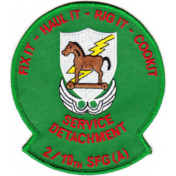 2nd Battalion 10th Special Forces Group Patch