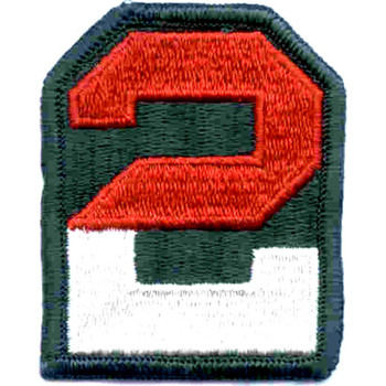 2nd Army Patch
