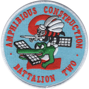 2nd Amphibious Mobile Construction Battalion Patch