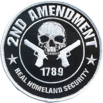 2nd Amendment Real Homeland Security Patch