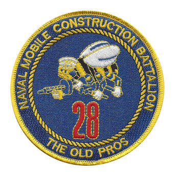 28th Mobile Construction Battalion Patch