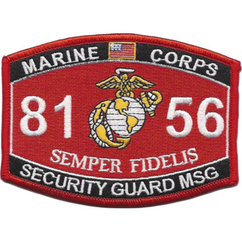 8156 Security Guard MSG MOS Patch