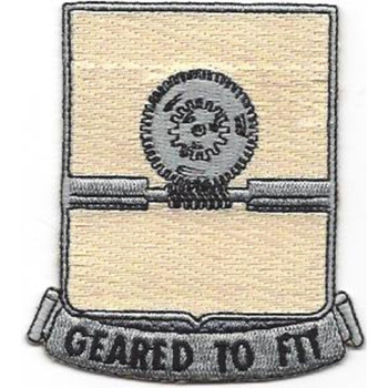 27th Quartermaster Regiment Patch