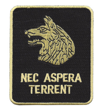 27th Infantry Regiment Nec Aspera Terrent Patch