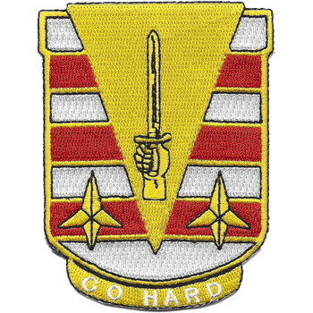 27th Engineer Battalion Patch - Go Hard