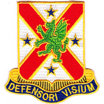 278th Chemical Battalion Patch