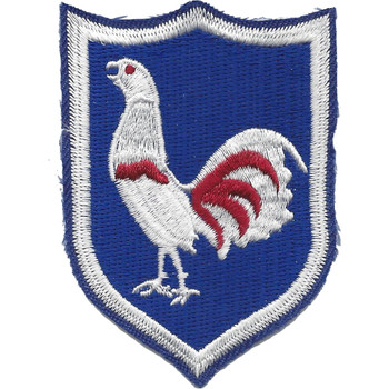 269th Regimental Combat Team Patch