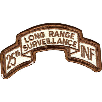 25th LRS Infantry Desert Patch