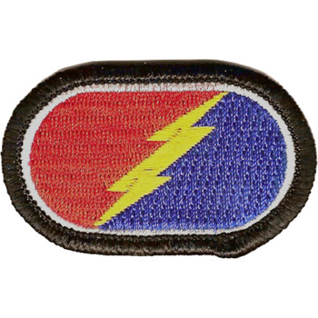 25th Division 4nd Infantry Brigade Oval Patch