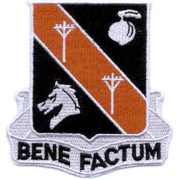 40th Signal Battalion Patch Bene Factum Vietnam