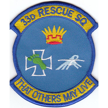 33rd Rescue Squadron Patch That Others May Live