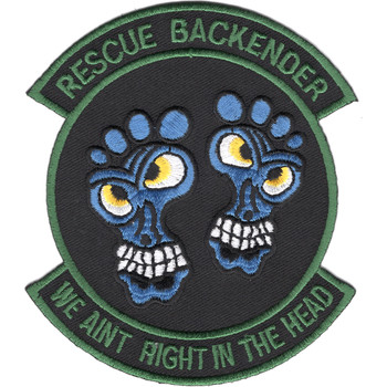 33rd Rescue Squadron Patch Rescue Backender
