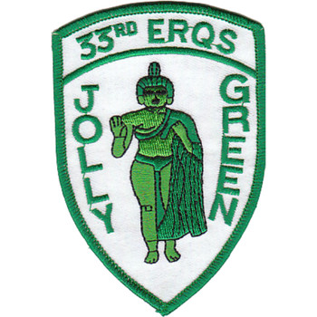 33rd ERQS Rescue Jolly Green PJ Patch