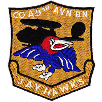 7th Squadron 9th Air Aviation Battalion Alpha Company Patch