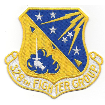 328th Fighter Group Patch