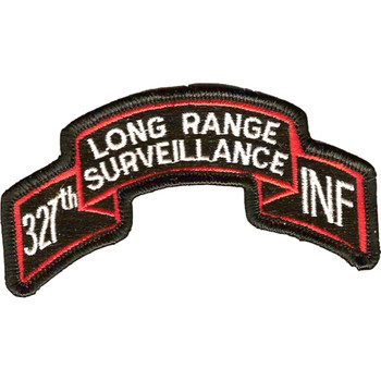 327th LRS Infantry Patch