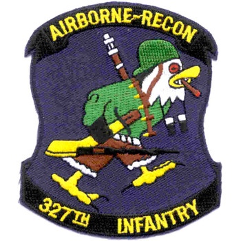327th Airborne Infantry Regiment Patch Recon