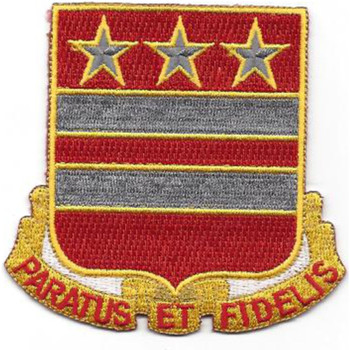 258th Field Artillery Battalion Patch