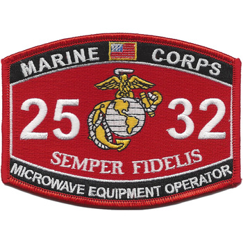 2532 MOS Microwave Equipment Operator Patch